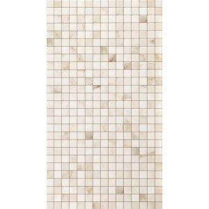 ABK Marble Way Srs Calacatta Mosaic Deco 13' x 24' Polished Tile