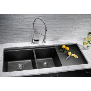 Blanco BLANCOPRECIS MULTI-LEVEL 1-3/4 Bowl With Drainer