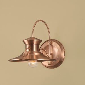 Norwell Lighting Small Budapest Wall Outdoor Sconce