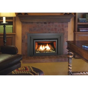 Enviro Clean Face E20 Series 36'' x 24'' Direct Vent Gas Insert Fireplace