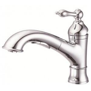 Danze Fairmont Single Handle Pull-Out Kitchen Faucet