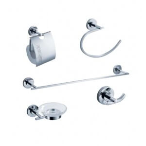 Fresca Alzato 5-Piece Bathroom Accessory Set
