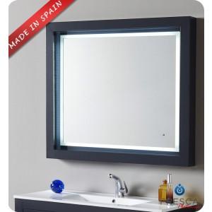 "Fresca Platinum Due 39"" Bathroom Mirror"