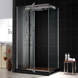 DreamLine MAJESTIC Steam Shower Enclosure with Left-Wall Installation