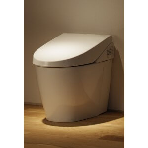 Toto Neorest 550 Dual Flush Toilet 1.6 GPF with SanaGloss