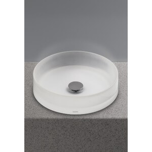 Toto Curva Rectangle Self-Rimming Lavatory With Faucet Hole
