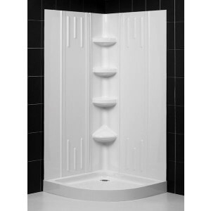 "DreamLine Qwall-2 29"" - 41"" Shower Back Walls Kit"