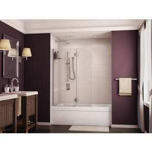 Fleurco Evolution Monaco 40'- 41' Round Top Tub Shield with Fixed Panel