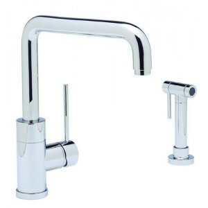 Blanco BLANCOPURUS I Kitchen Faucet With Metal Side Spray