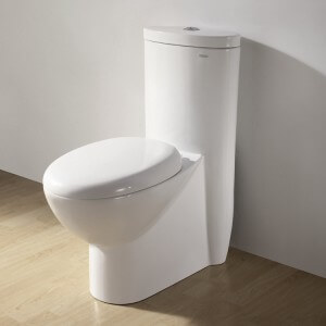 Ariel Contemporary European Toilet with Dual Flush