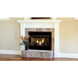 Majestic DBX Series 25'' x 27'' Thermostat Control VENT FREE Gas Fireplace